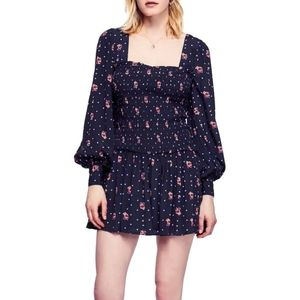 NWT FREE PEOPLE TWO FACES MINI DRESS